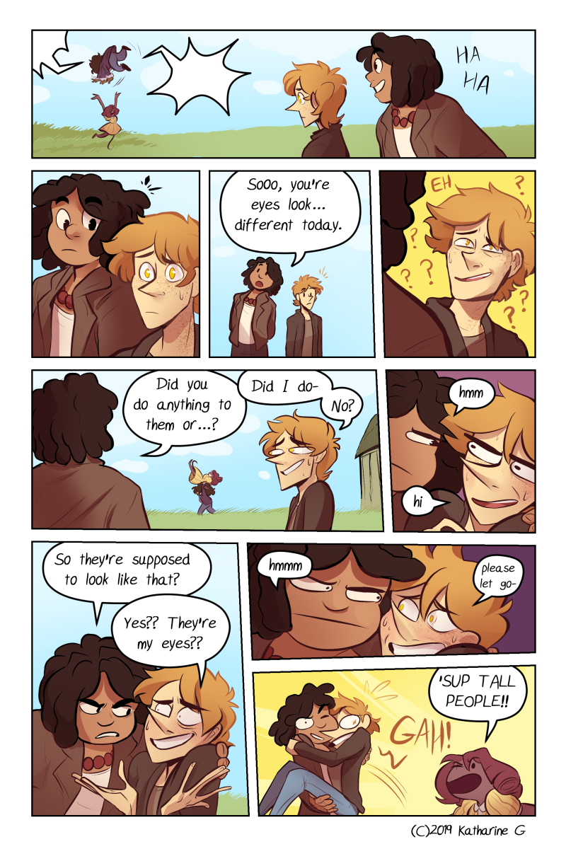 the boys, girls, and neutrals are equally dumb in this comic but the boys are winning rn